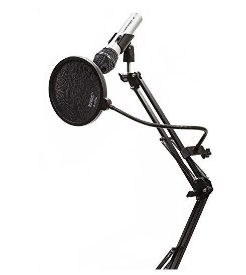 Mic with Boom Arm and Pop Filter