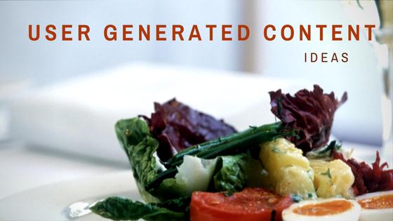 User generated content ideas