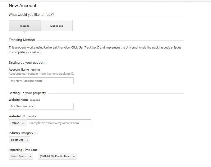 Google Analytics Set Up Step 3