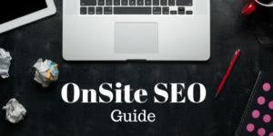 Digital Marketing Onsite SEO